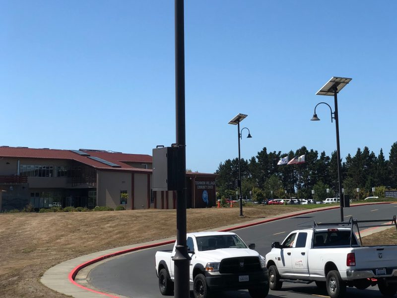 Image 10 Bear River Solar Streetlights Cars