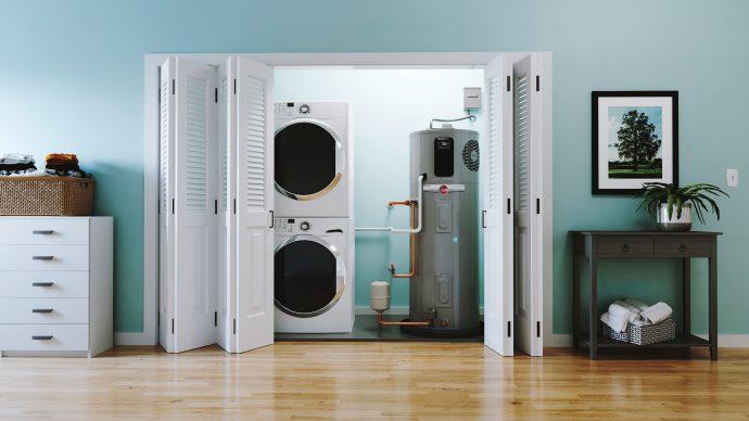 Rheem Hybrid Gen 5 WH Laundry Room