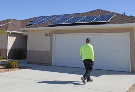 Solar On A Home
