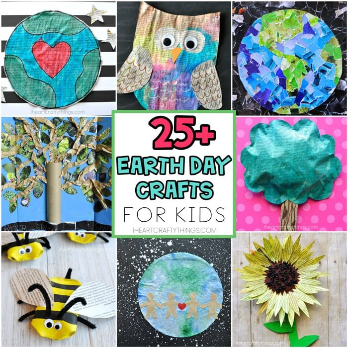 Earth day crafts for kids sq FINAL